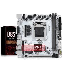 JINGYUE B85 Motherboard LGA 1150 intel Pentium/Core/Xeon CPU DDR3 16G RAM M.2 NVMe WI-FI slot para Desktop Mainboard