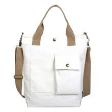 LJL fashion women canvas handbag female font b cross b font body font b shoulder b