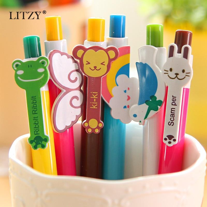 Kawai Pencil /& Gel Pen Ballpoint Pens Student Stationery Office Writing Supply