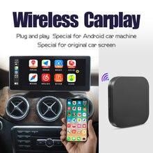 Jiuyin sem fio apple carplay ios 14 adaptador de conexão automática para vw volkswagen ford audi mercedes peugeot toyota honda nissan opel