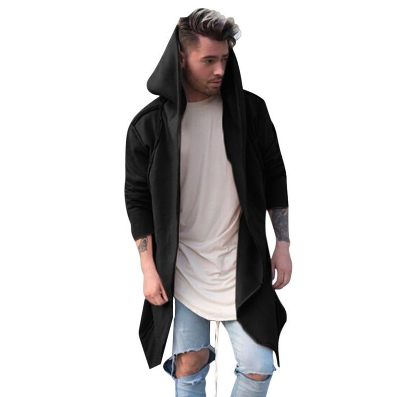 Hd6f151c933aa4526a3e482c6b97da86bi Vintage Men Autumn Winter Hoodies Jacket Long Cardigan Coat Casual Hip Hop Solid Pocket Jacket Hooded Outwear Veste Homme