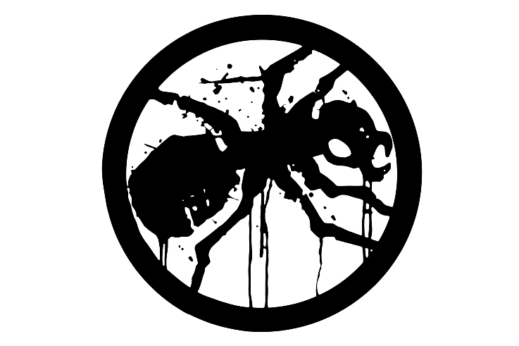 Hot Black Spider Trapped Inside The Ring Prodigy Car Sticker Vinyl Car Styling Cover Scratches Motorcycl PVC 13cm X 13cm
