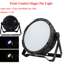 2Pcs/Lot 127 LED Point Control Magic Par Light RGB DMX512 Sound Actived Magic Effect Led Stage DJ Disco Club Party Lighting цена