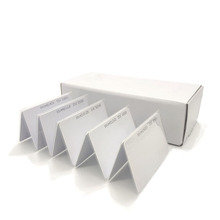 Tarjeta de proximidad RFID 100 KHZ EM4100 TK4100 RFID, tarjeta de identificación de etiqueta RFID para Control de acceso, asistencia a tiempo, 125 unids/lote