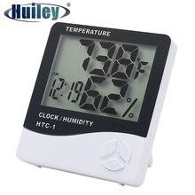 ترمومتر داخلي الرطوبة الإلكترونية الرقمية LCD C/F درجة الحرارة مقياس الرطوبة ساعة تنبيه محطة الطقس غرفة نوم المنزل