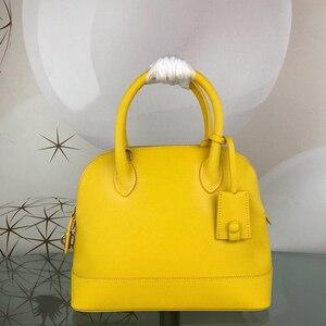 Image 5 - Sac à main de luxe pour femmes, sacoche tendance, sacoche de styliste de marque célèbre pour dames, sac en vrai cuir à coquille, 2020