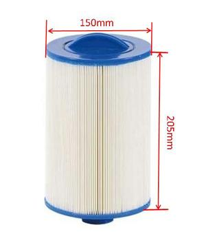 hot sale france spa filter 20.5x15cm 8'x6' SAE Thread spain hot tub filter Italy filter UK England filter