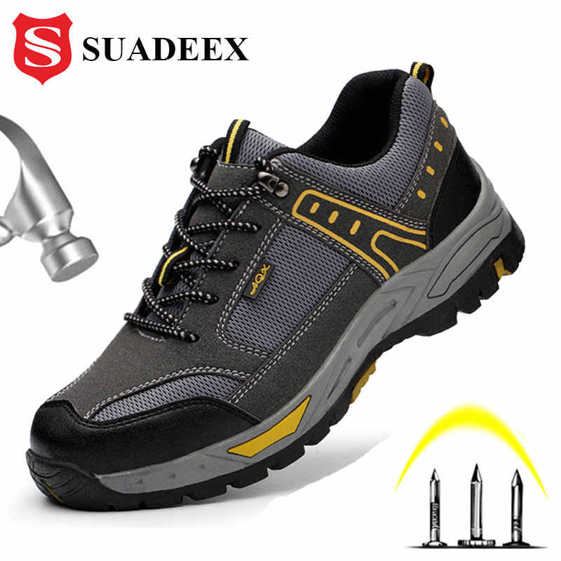 Boots Sporty Breathable with Steel Cap