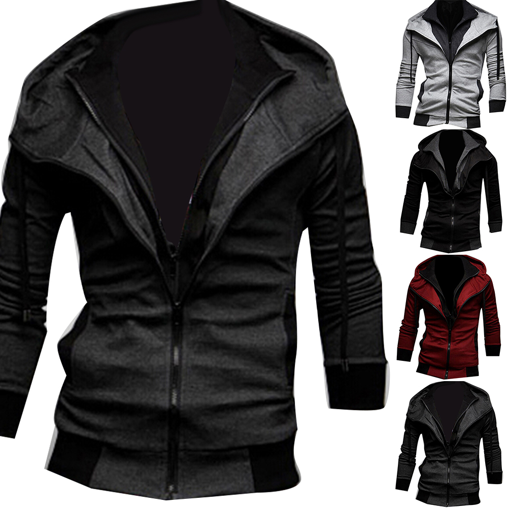 Hd6f218e2cd694a7fbcc3a9f0afdf1238c Jacket Men Autumn Winter zipper Casual Jackets Windbreaker Men Coat Business veste homme Outdoor stormwear clothing
