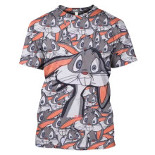 Bugs Bunny2019 LBG new Bunny3D printing T-shirt men and women fashion Harajuku short-sleeved Bunny anime