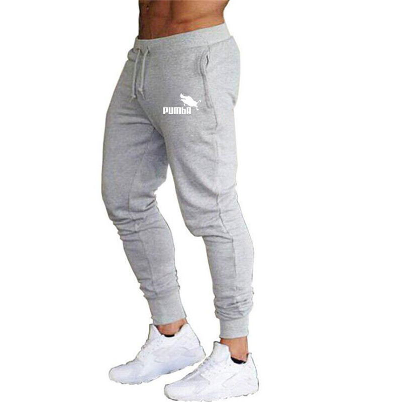 2019 Jogging Pants Men Solid GYM Training Pants Sportswear Jogger Mens Sport Pants Men Running Swearing Pants Jogging Sweatpants
