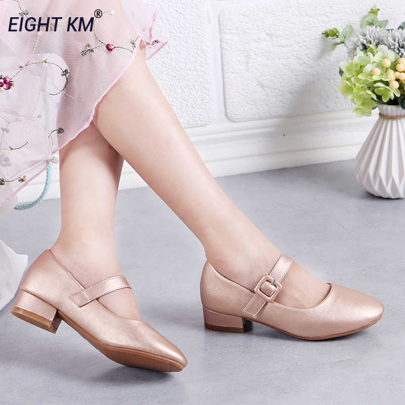 Kid Girl Dress Party Bownot Princess Shoes Hook Loop Sandals Wedding Bridesmaid