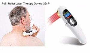 Recargable, terapia láser suave para el dolor frío, portátil, terapia láser de bajo nivel, LLLT para el dolor corporal, cuidado de la salud