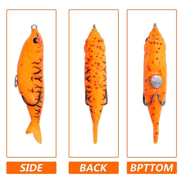 Фото рыболовные приманки в виде лягушки 5 шт/кор 124 г набор силиконовых цена