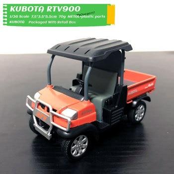 1/36 Scale Car Model Toys KUBOTA RTV900 Diecast Pull Back Car Model Toy For Gift,Kids,Collection 16851 60014 stop solenoid for kubota mower tractor excavator rtv rtv900 16851 60010