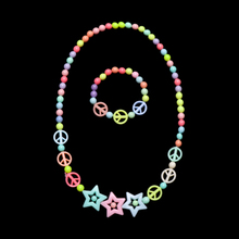 Bracelet Beads Toys Necklace Handmade Girl Children Birthday-Gifts-Accessories Butterflies-Flowers