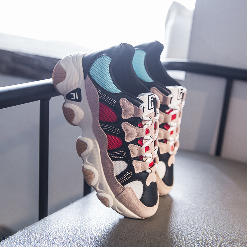 Womens Chunky Sneakers Platform Designer Korean Fashion Tenis Female Trainers Woman Lace Up Casual Shoes Women Comfor Sport Shoe