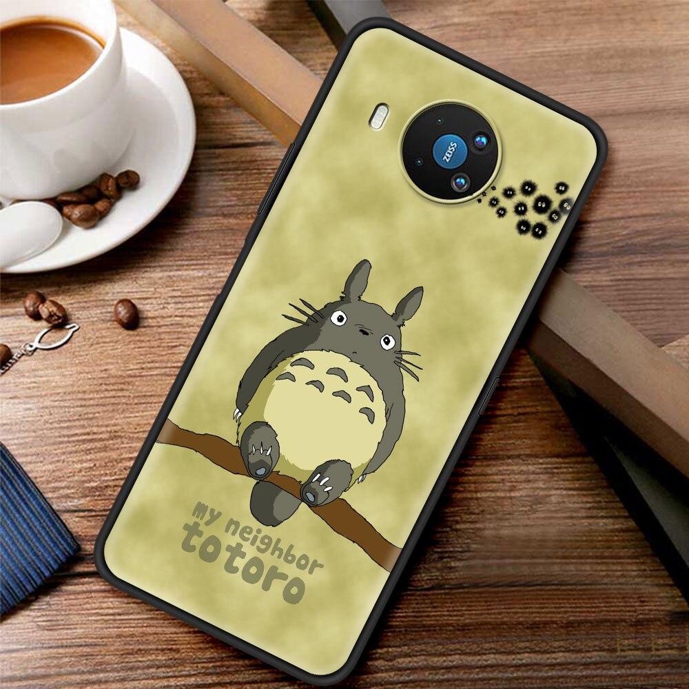 Cute Totoro Anime Silicone Case Funda For Nokia 2.2 2.3 3.2 4.2 7.2 1.3 5.3 8.3 5G 2.4 3.4 C3 C2 Tenen 1.4 5.4 Back Cover Coque