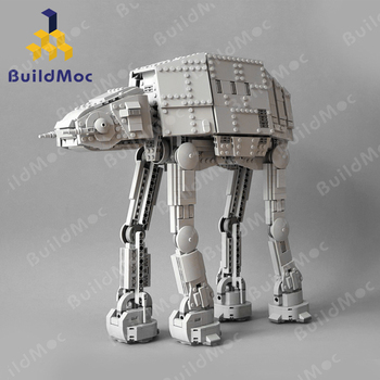 цена на Star Wars Terrain Walker First Order AT-AT Model Star Toys Wars With lepining ATAT Set Toys Kids Gifts Building Blocks toys