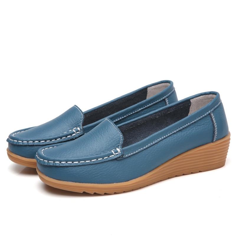2020 Women Thick bottom Flats Platform Shoes Summer Comfortable Women Flats Shoes
