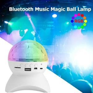 Image 3 - Led disko ışığı sahne ışığı müzik sahne ışığı u disk hafıza kartı Bluetooth hoparlör bağlantı DJ parti Bar noel cadılar bayramı dekor
