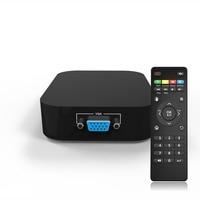 portable Mini Full HD 1080P Media Player Secure Digital/MMC MKV USB VGA flash drive for 2TB External Hard Drive US Plug