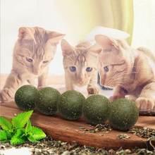 Мяч для домашних животных мяч кошек мята чистых удаления волос