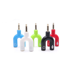 3.5 adapter mobile phone accessories mobile phone accessories headphones adapter  3.5mm audio one point two audio head