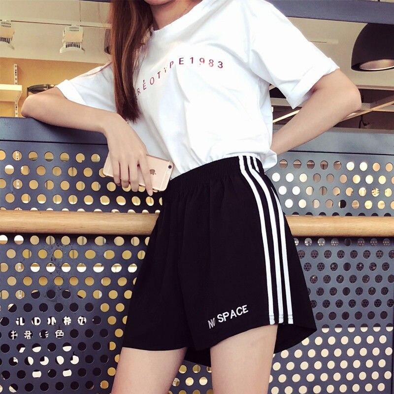 Women Summer thin sports shorts female three-point running shorts ultra shorts hot sportswear beach shorts
