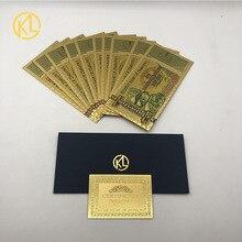 10 шт. новый тип банкнот в Зимбабве один квадратный доллар для хорошего подарка