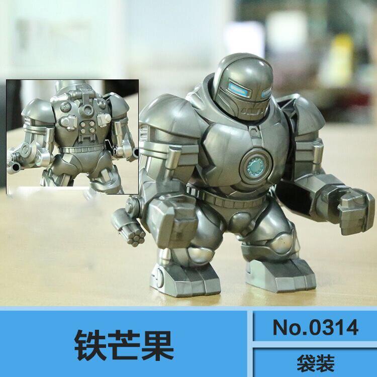 Single Sale Building Blocks Super Heroes Avengers Iron Man Buster Iron Manguo Whiplash Figures Bricks Action For Kids Toys 0314