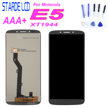 купить Starde LCD For Motorola E5 XT1944 LCD Display Touch Screen Digitizer Assembly For Moto E5 XT1944-4 XT1944-1 5.7 Screen with дешево