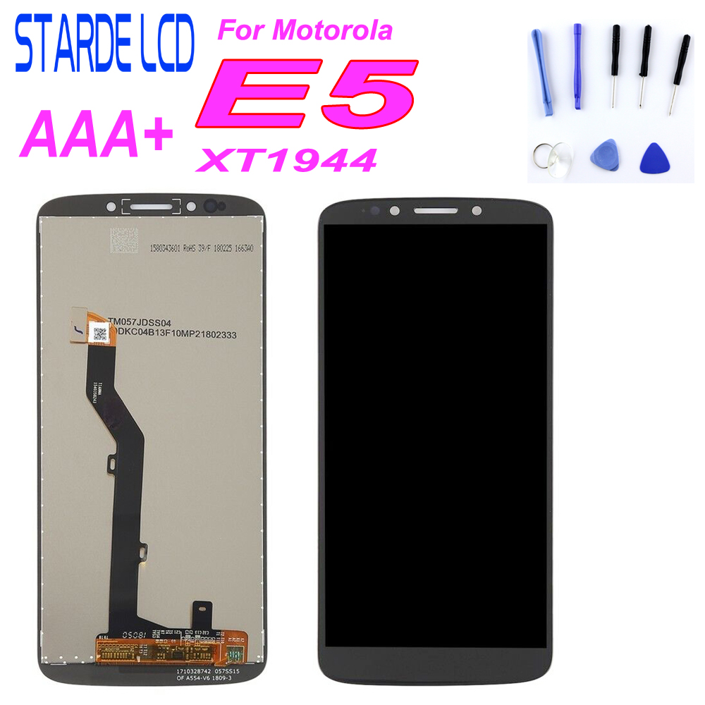 Starde LCD For Motorola E5 <font><b>XT1944</b></font> LCD Display Touch Screen Digitizer Assembly For Moto E5 <font><b>XT1944</b></font>-<font><b>4</b></font> <font><b>XT1944</b></font>-1 5.7