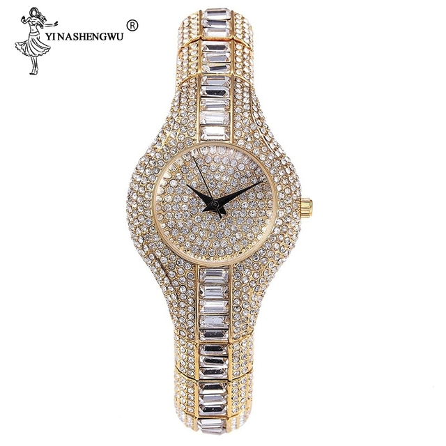 30mm Small Womens Watch Shockproof Waterproof Luxury Ladies Ar Metal Watch Bracelets Rhinestone Bu Cheap Chinese Watches Fashion