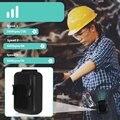 Поясной вентилятор  портативный Handsfree USB вентилятор  мини портативный клип на вентилятор  сильный ветер  3600 мАч перезаряжаемая батарея для к...