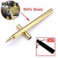Ouro de luxo de alta qualidade opcional minimalismo caneta esferográfica superfina pennen boligramos kugelschreiber canetas penna 03639