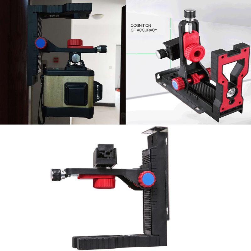 Adjustable Laser Level Magnetic Wall Bracket Hang L-shape Hook Bracket Universal Hotselling A5YD