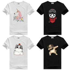 Toddler Child Summer Short Sleeve T-Shirt Kids Cotton White Black T Shirts For Baby Boy TShirt Girl Tops Tee 2 3 4 Years(China)