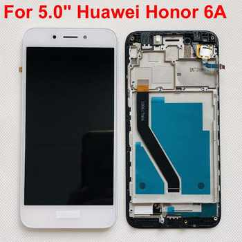 Original LCD Full LCD Display + Touch Screen Digitizer Assembly For Huawei Honor 6A DLI-L22 DLI-L01 DLI-TL20 DLI-AL10 With Frame