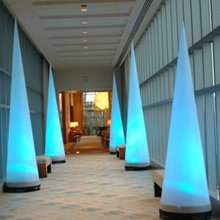 Waterproof Colorful Inflatable LED Light Column/Inflatable Cone for Party Decororation Luminous Remote Control Color Changing free shipping waterproof led 25cm round ball light luminous colorful globe night light remote control light for indoor outdoor