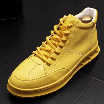 Mężczyźni buty w stylu casual skórzane buty męskie buty modne trampki męskie buty moda skórzane buty oryginalne skórzane buty męskie męskie mokasyny tanie i dobre opinie Ktip up Gumowe Dla dorosłych Stałe Wiosna jesień Skóra bydlęca Masaż Prawdziwej skóry Świńskiej Przypadkowi buty