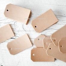 Japonia ostrze ze stali puste etykiety na bagaż skóra label Die Cut Rule frez do DIY skóra dziurkacz narzędzie rzemieślnicze 40x80mm