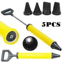 5 цементный пистолет для чеканки, насадок для кирпичной затирки, пистолет для чеканки, набор ручных инструментов, набор для наведения раствора, распылитель, набор сверл, набор инструментов