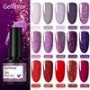 Гель для ногтей Gelfavor UV 8 мл Набор ногтей для маникюра УФ светодиодный базовый верхний слой для наращивания ногтей гель лак лакировка