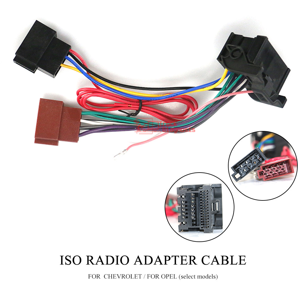 Car Stereo ISO Wiring Harness For Chevrolet Cruze Opel Astra Insignia Meriva Adapter Connector car Adaptor Cable 12-131(China)
