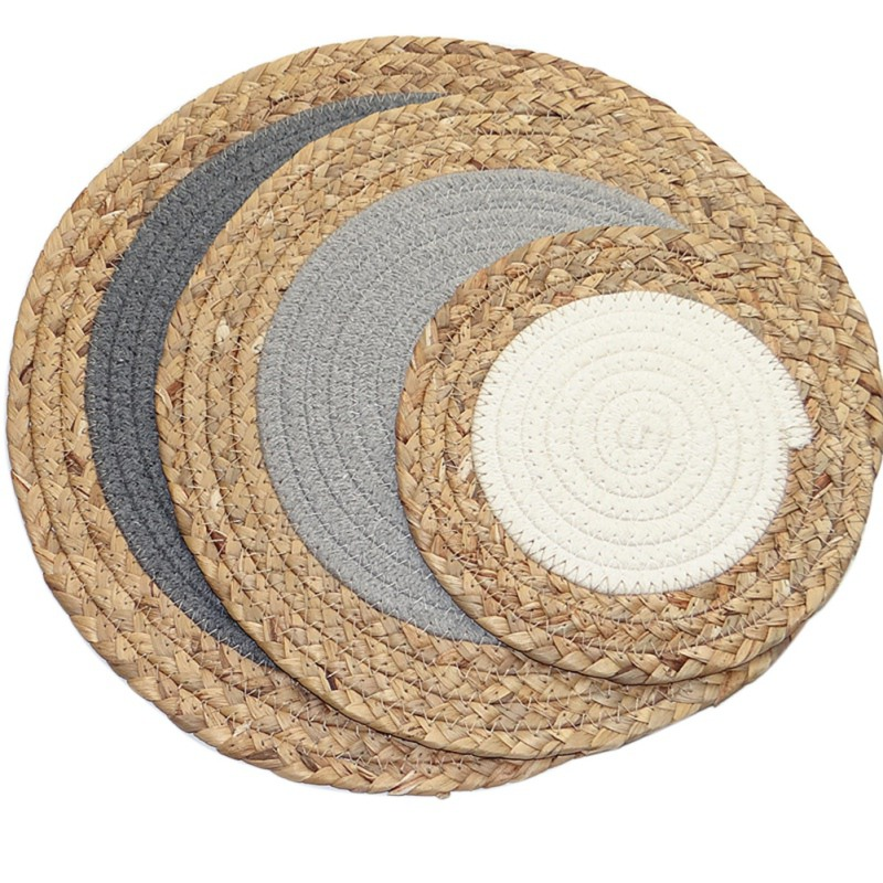 Gr Woven Dining Table Placemats Heat