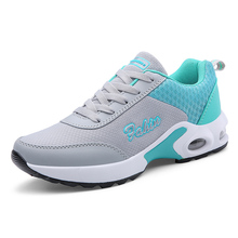 Women's Shoes Running Shoes New Outdoor Fly Woven Breathable Sneakers Lace-up Shoes Non-slip Fitness Shoes Platform Sport Shoes