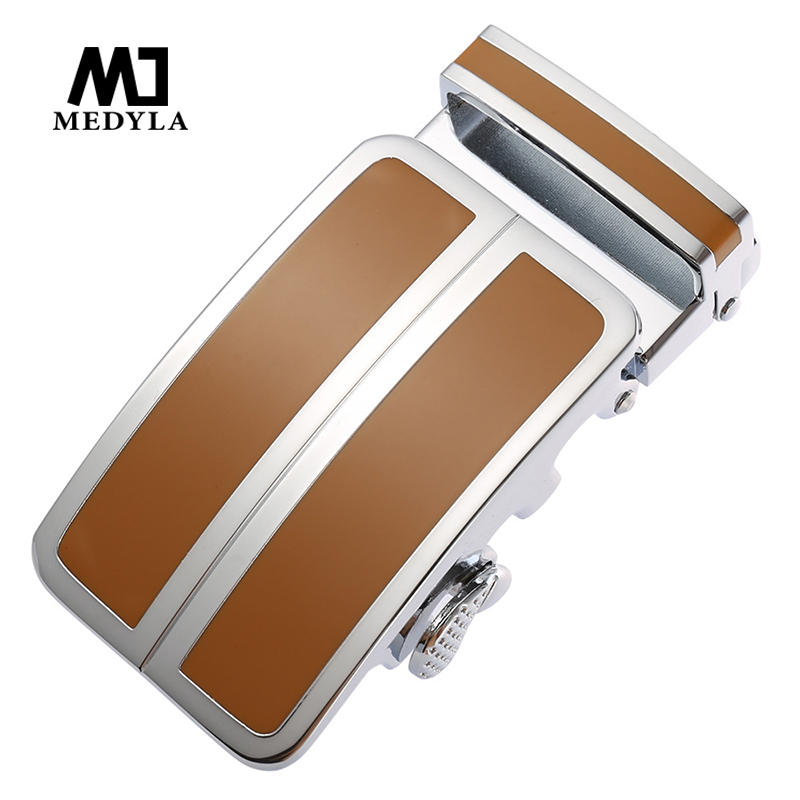 MEDYLA Solid Metal Business Belt Buckle Inner Diameter 3.6cm Not Easy To Fade Business Men's Belt Automatic Buckle Big Buckle