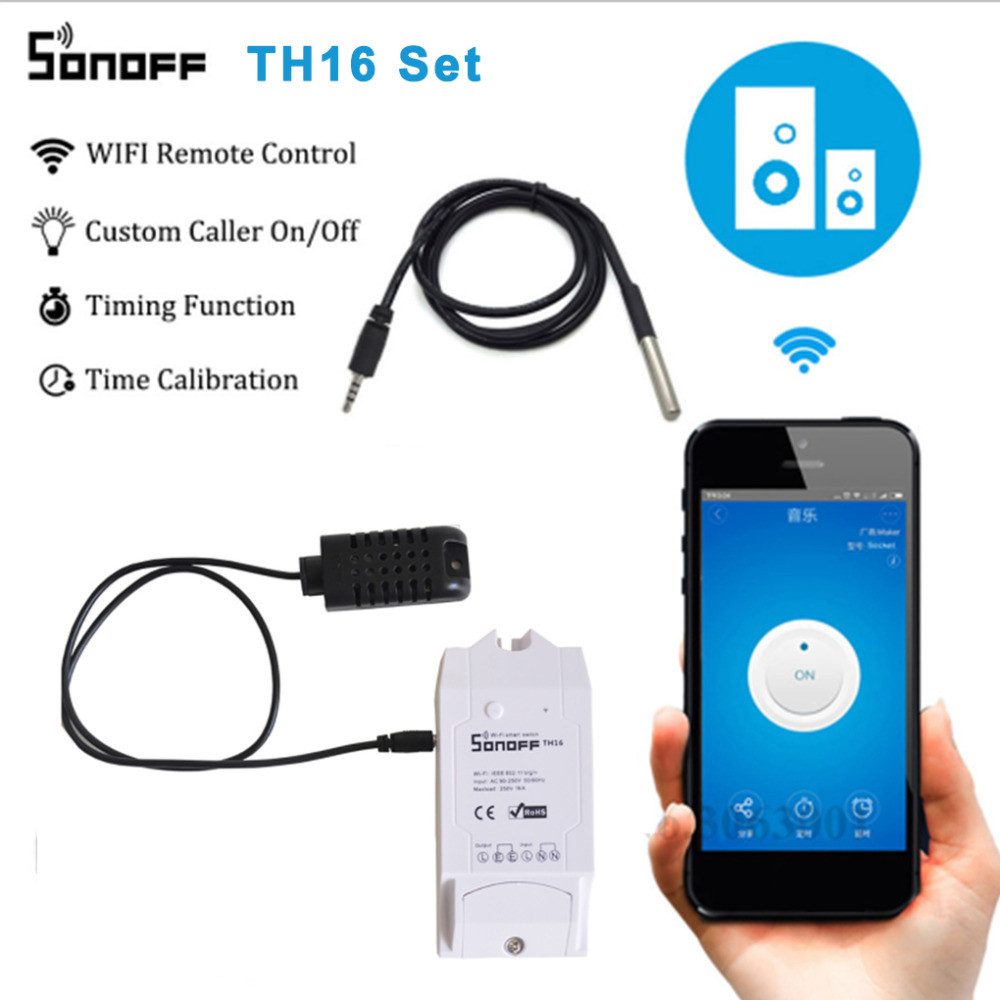 Best Promo #fbb9 Suitable For SONOFF Smart Home DS18B20