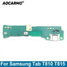 AocarmoสำหรับSamsung Galaxy Tab SM T810 T815 USBชาร์จพอร์ตDock Connector Flex Cable